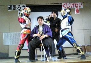 【出陣報告】本日、茨城県に義援金を届けて舞りました!