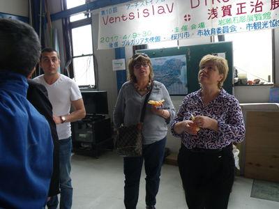 ブルガリアのシリストラ市の皆さんが来館