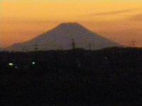 岩瀬から見るMt.Fuji