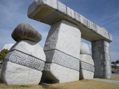 石彫体験テレビ放映は