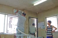 事務所のエアコン替えました 2011/08/11 23:42:00