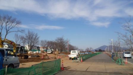 葛城1号近隣公園 建設中!
