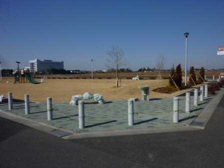 葛城地区7号街区公園がほぼ完成!