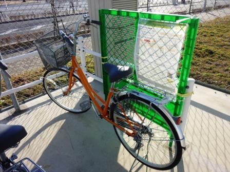 サイクルシェアリング実証実験が実施中!