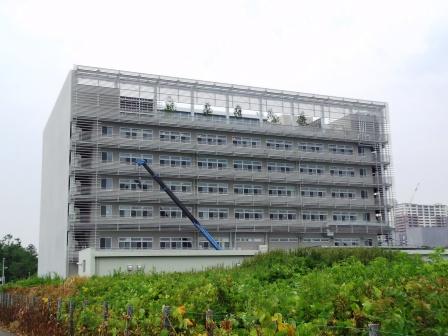 理想科学工業 理想開発センターがもうすぐ開所!