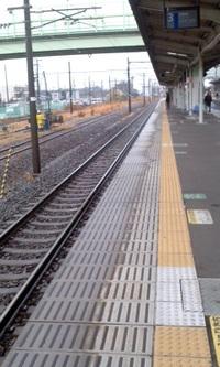 雨の駅 2012/03/09 09:33:28