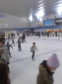 スケートしてます