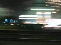 夜の沿線~常磐線の車窓から