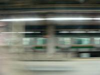 終点上野に到着です~常磐線の車窓から