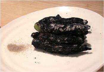 ソラマメの黒焼き
