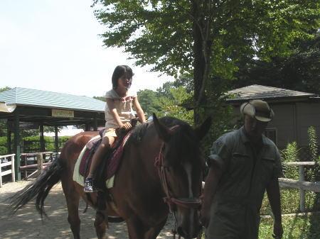 りんどう湖ファミリー牧場 乗馬
