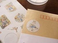 ピーターラビットの切手 2011/05/28 02:53:41