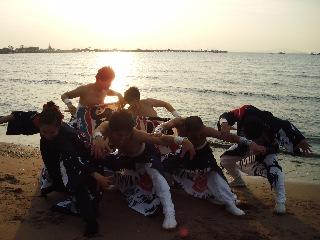 まつりつくば2011出陣報告1〜結海衆とエイサーソーラン!
