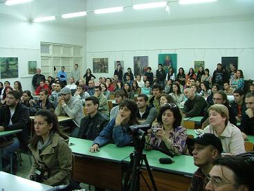 ベリコタルノボ大学にて講演会