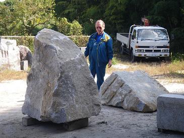 石を選ぶ~Mr.キリル・メスキン