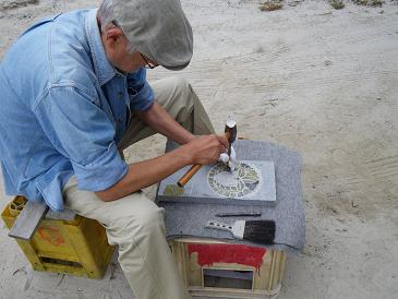 秋の石彫体験講座 9、28
