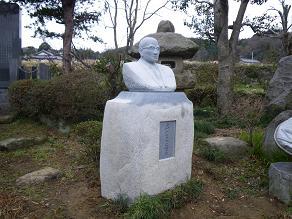 鈴木三郎先生の像 完成