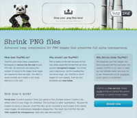 PNGデータ圧縮「TinyPNG」