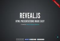 reveal.jsでPowerPointのプレゼン資料みたいなページ