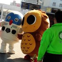 フクロウとロボット