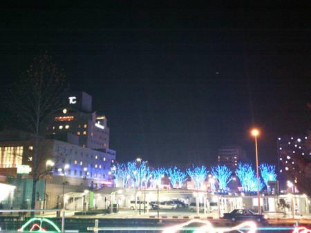 光の森点灯式