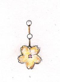 桜のピアス☆オーダー