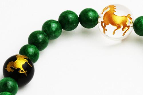 黄金の【馬】ブレス☆