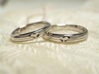 ランニングの手作り結婚指輪 宇都宮市 ジュエリーマーノ