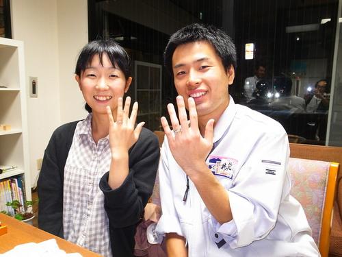 シンプルな結婚指輪 桜川市 ジュエリーマーノ
