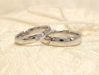 シンプルな結婚指輪 桜川市 ジュエリーマーノ 2016/12/13 10:00:00