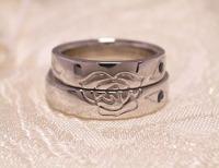 手作り結婚指輪 薔薇のリング 日立市 ジュエリーマーノ