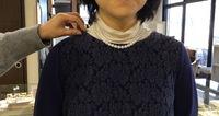 茨城県桜川市 宝石 真珠ネックレス ふさわしい長さ
