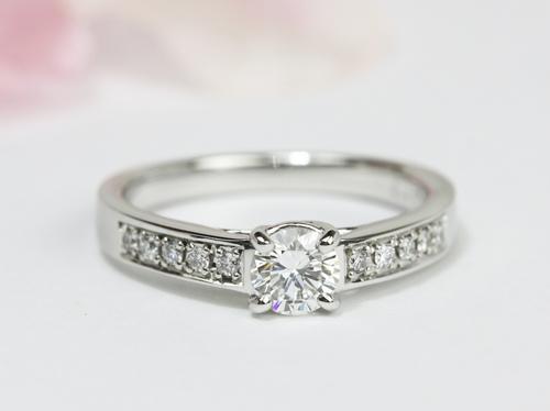 立爪ダイヤモンドリングのジュエリーリフォーム茨城県桜川市宝石店