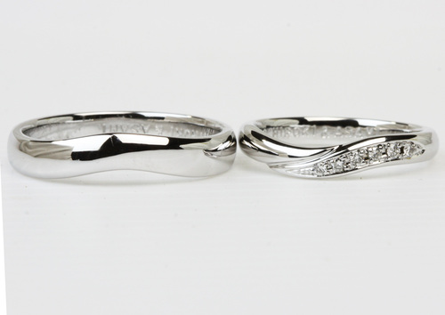 手つくり結婚指輪が完成byジュエリーマーノ