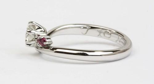 婚約リング☆手つくり指輪