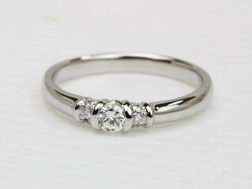シンプルダイヤモンドリングへのリフォーム