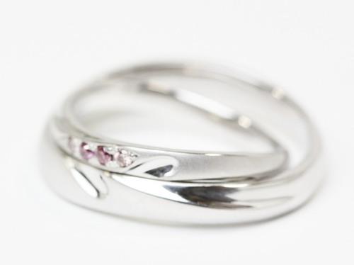 ハートの結婚指輪 桜川市 ジュエリーマーノ