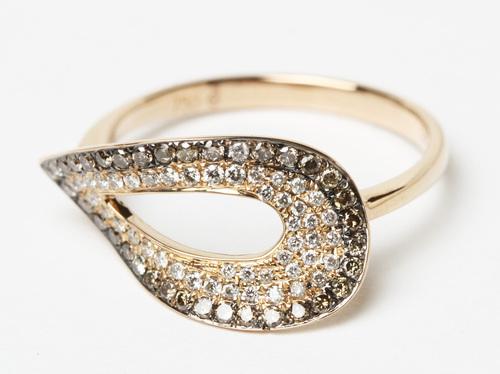 ピンクゴールド☆ダイヤのファッションジュエリー
