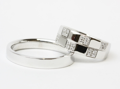 結婚指輪 オーダーメイド 茨城県桜川市宝石店