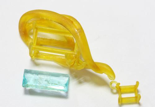 「心機一転を喚起する宝石」パライバトルマリンペンダントオーダー  茨城県桜川市