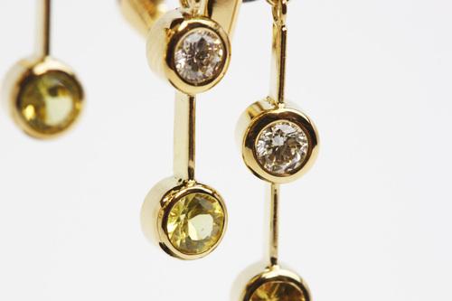ファラオが愛した「ペリドット」のイヤリングオーダー 茨城県桜川市宝石店