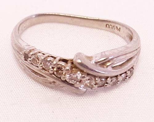 ダイヤモンド(10石使い)リングのジュエリーリフォーム 茨城県桜川市宝石店