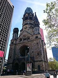 ベルリン出張3日目 (カイザー・ヴィルヘルム記念教会)
