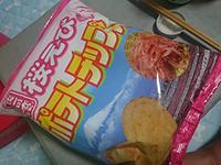 ポテトチップス 駿河湾桜えび味