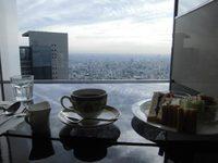 JRセントラルタワーズ「カフェ ド シエル」でモーニングコーヒーを!