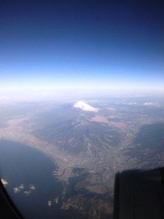 2015南紀旅行(その1) 富士山を見ながら南紀白浜空港へ!