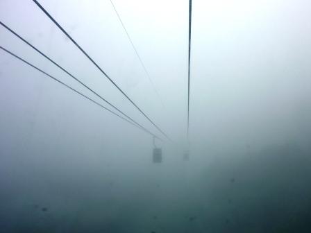 2012年北海道旅行(18) 早起きして雲海テラスでモーニングコーヒー!