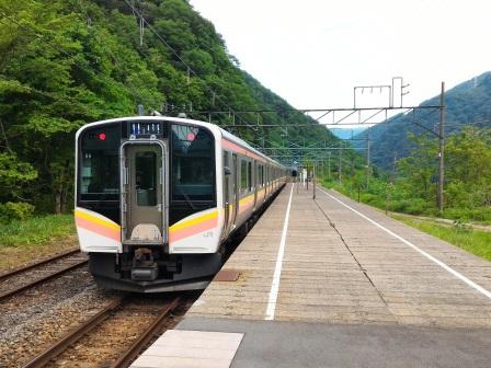 日本一のモグラ駅 土合駅で乗り降りしてみた!(前編)