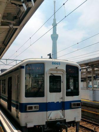 都会のローカル線 東武亀戸線に乗る!