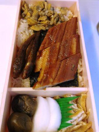 出張の時に、よく食べる弁当「深川めし」!
